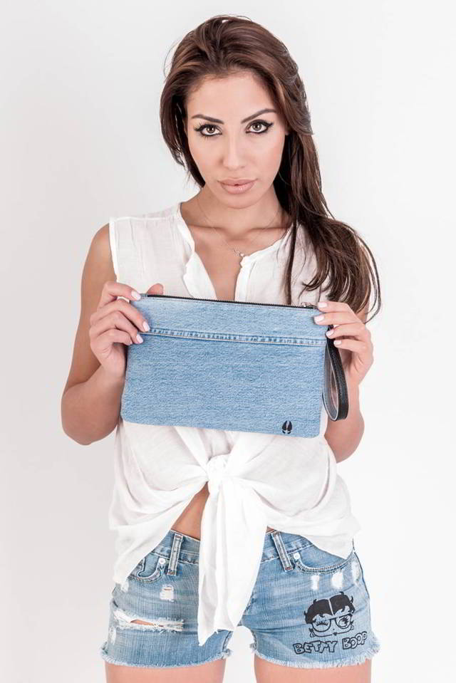 Borsa Jeans Marianna Vertola Wild Boar Customized